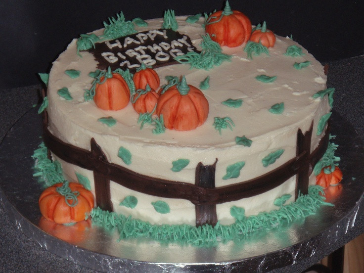 Fall Birthday Cake Ideas  Best 25 Fall birthday cakes ideas on Pinterest
