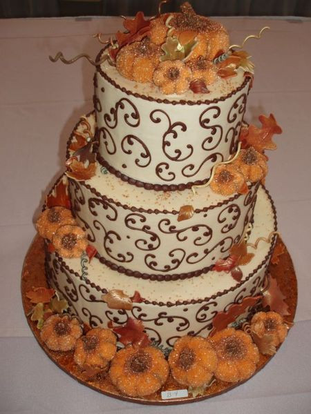 Fall Birthday Cake Ideas  24 Great Ideas for Fall Wedding Cake Decoration Style