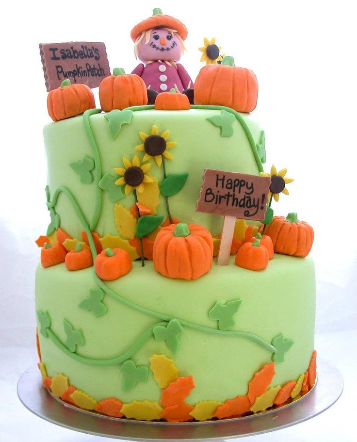 Fall Birthday Cake Ideas  17 Best ideas about Fall Birthday Cakes on Pinterest