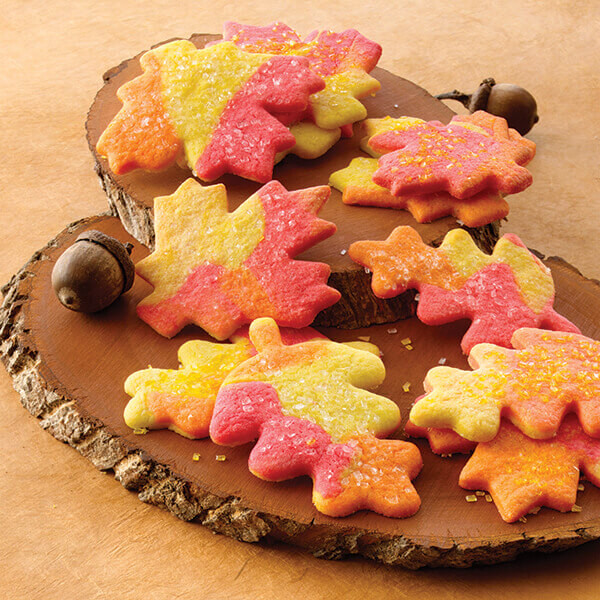 Fall Cookies Recipe  Fall Leaves Sugar Cookies Recipe