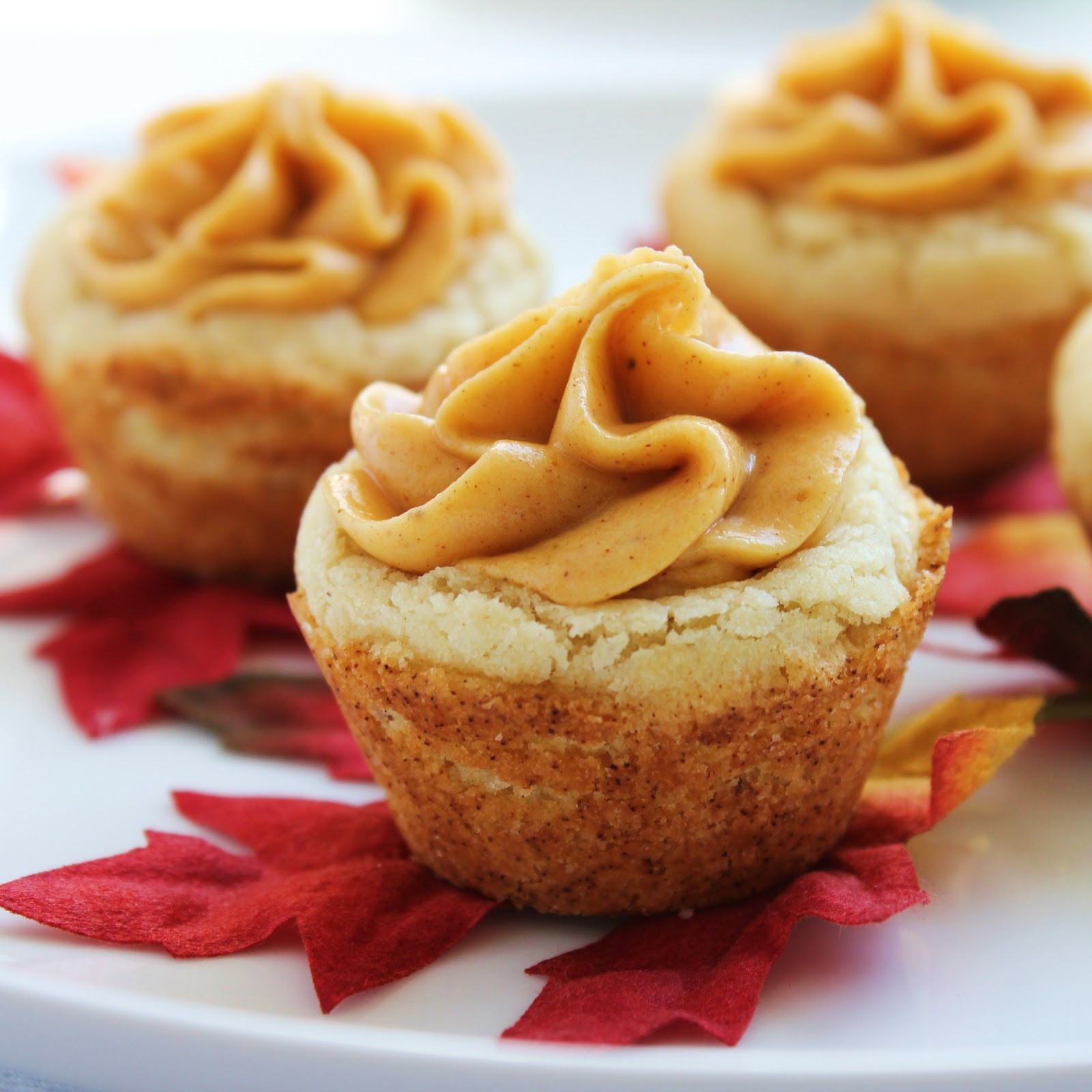 Fall Cookies Recipe  Inspired by Fall Pumpkin Cookie Cups Delicious as it Looks