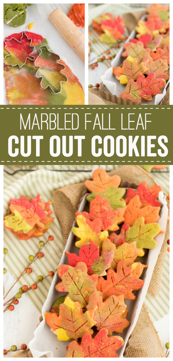 Fall Cut Out Cookies  Fall Leaf Cut Out Cookies Made To Be A Momma