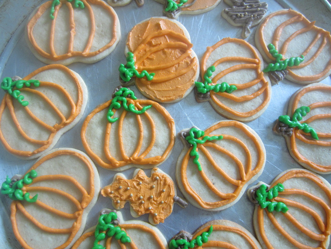 Fall Cut Out Cookies  The Home Economist HomeEc Home