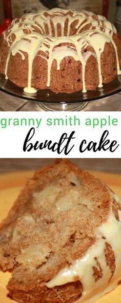 Fall Desserts 2019  Granny Smith Apple Bundt Cake Recipe in 2019
