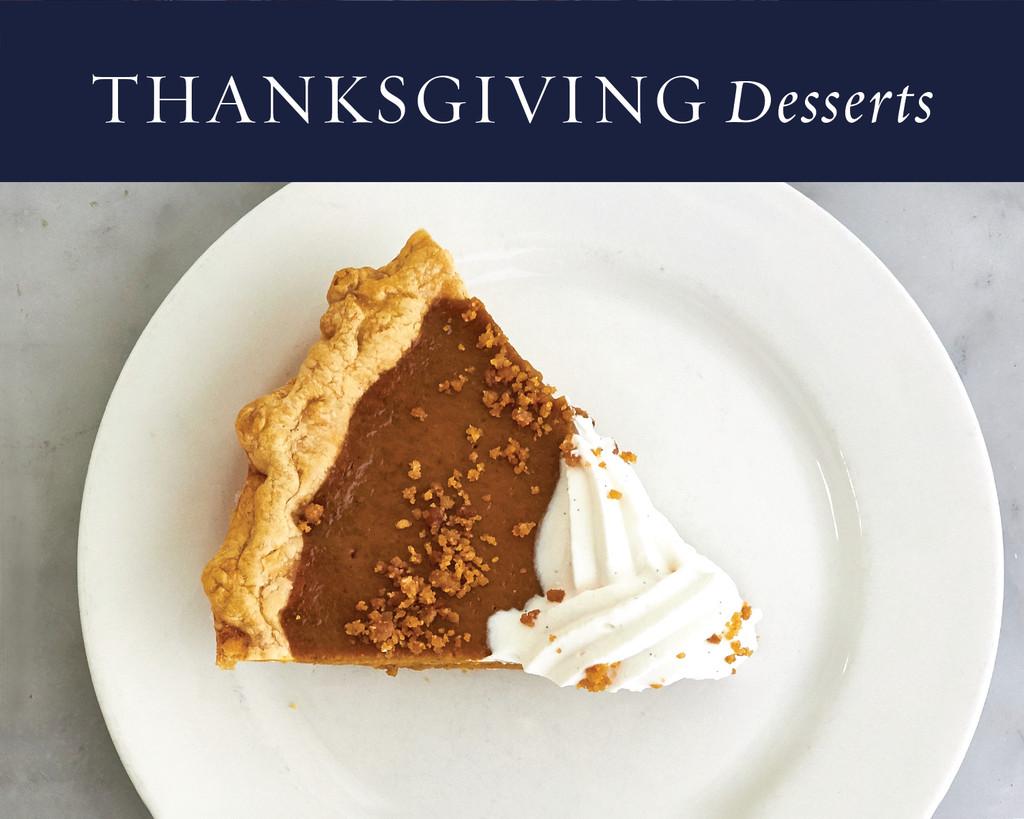 Fall Desserts 2019  Thanksgiving Desserts—Fall 2019 – Duchess Bake Shop