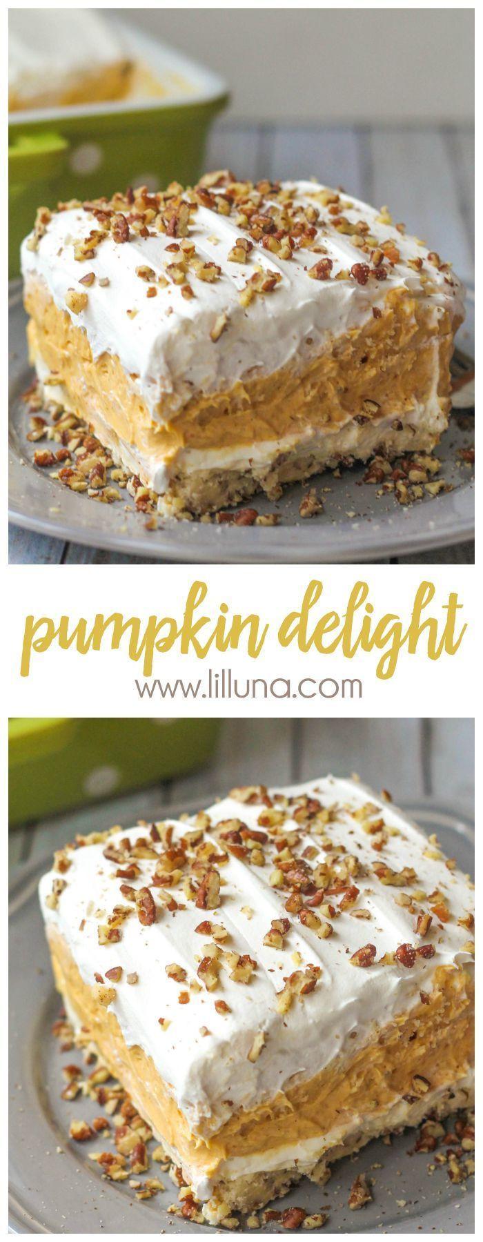 Fall Desserts Pinterest  2206 best Fall PUMPKIN Desserts Recipes images on