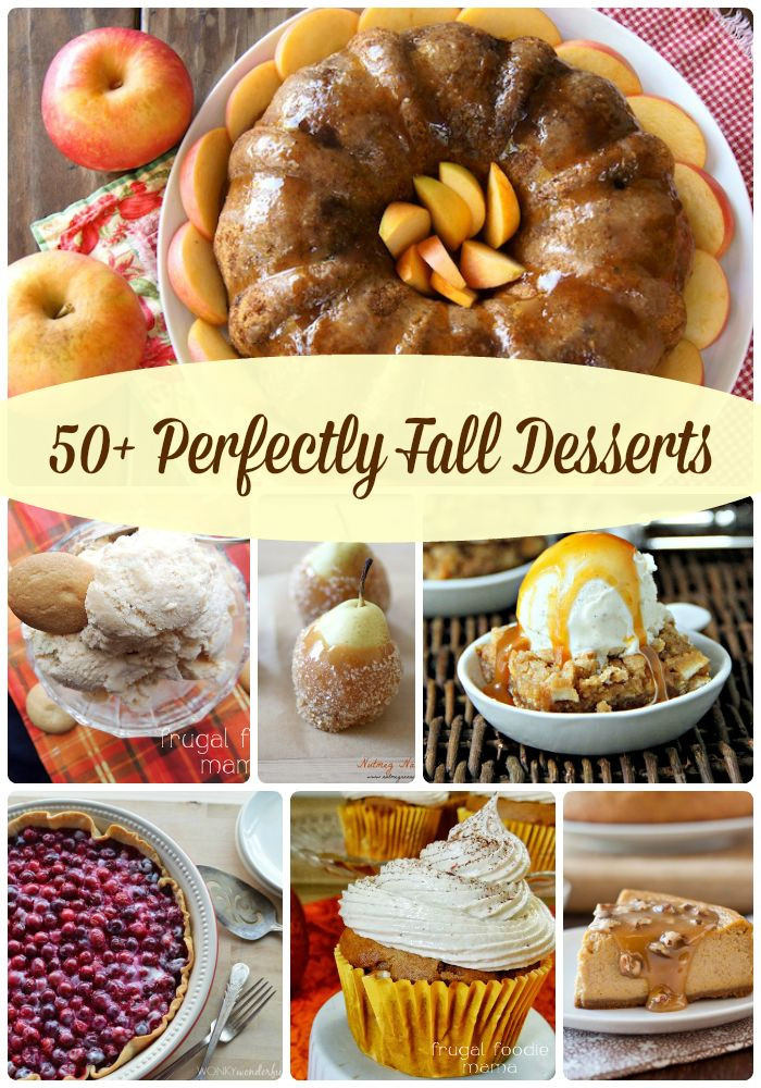 Fall Desserts Pinterest  Best 25 Fall desserts ideas on Pinterest