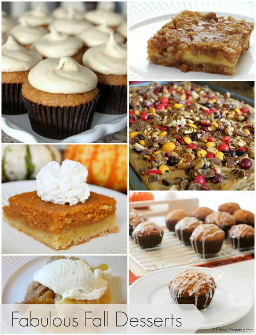 Fall Desserts Pinterest  6 Fabulous Fall Desserts