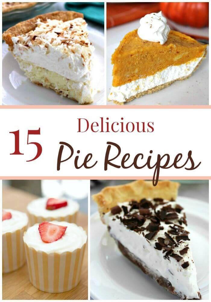 Fall Desserts Pinterest  The BEST Fall Pies on Pinterest