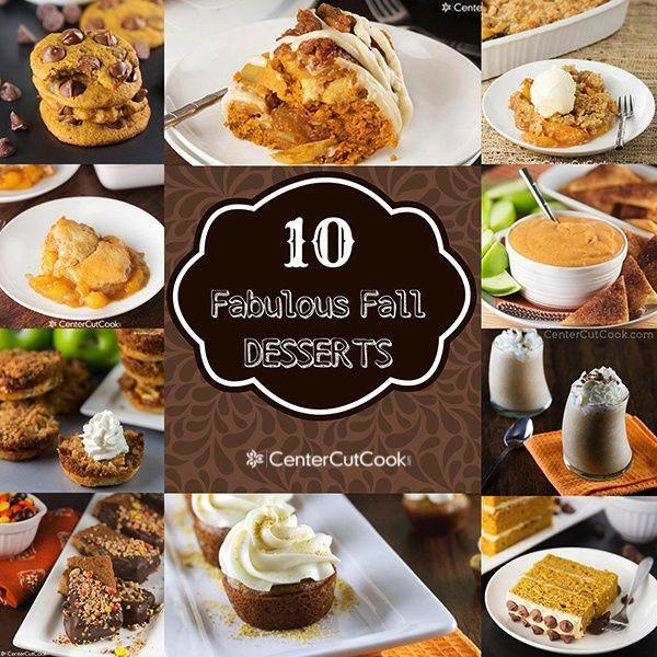 Fall Desserts Pinterest  10 Fabulous Fall Desserts Dessert