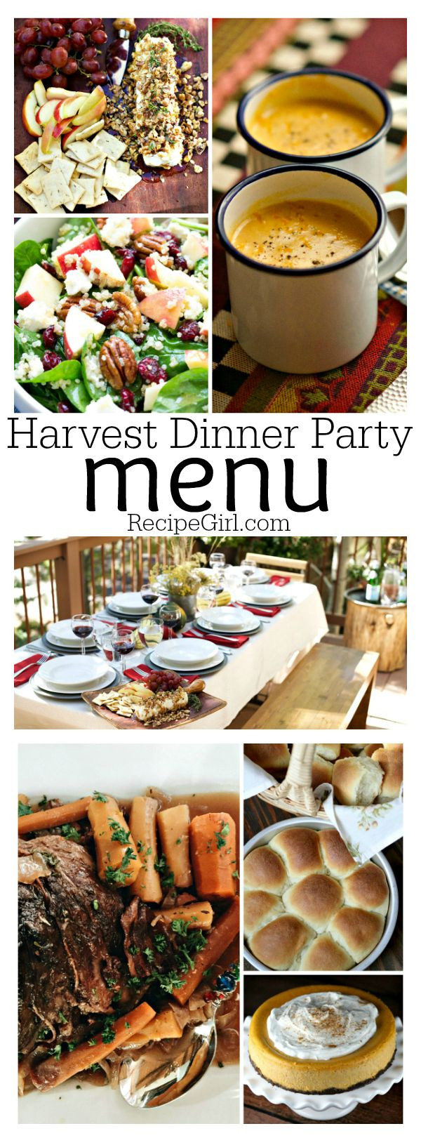 Fall Dinner Party Menu  25 best ideas about Fall Dinner Parties on Pinterest