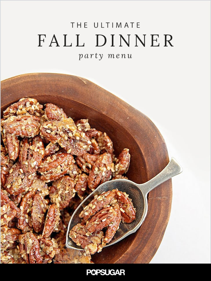 Fall Dinner Party Menu  Fall Dinner Party Menu