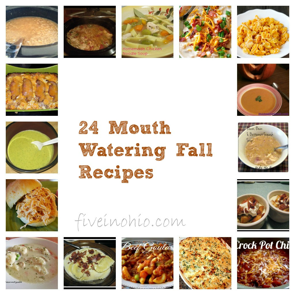 Fall Dinner Recipes  24 Mouth Watering Fall Dinner Recipes