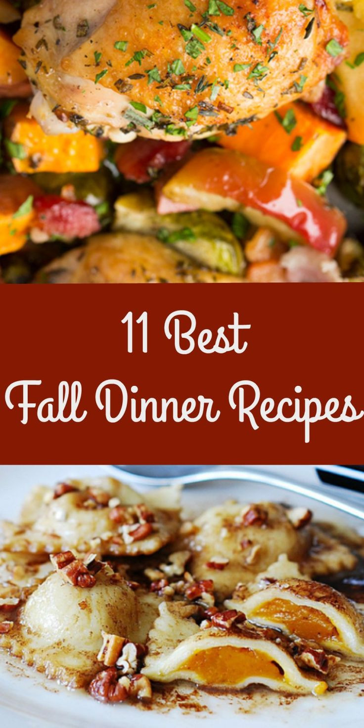 Fall Dinner Recipes  11 Best Mouthwatering Fall Dinner Recipes