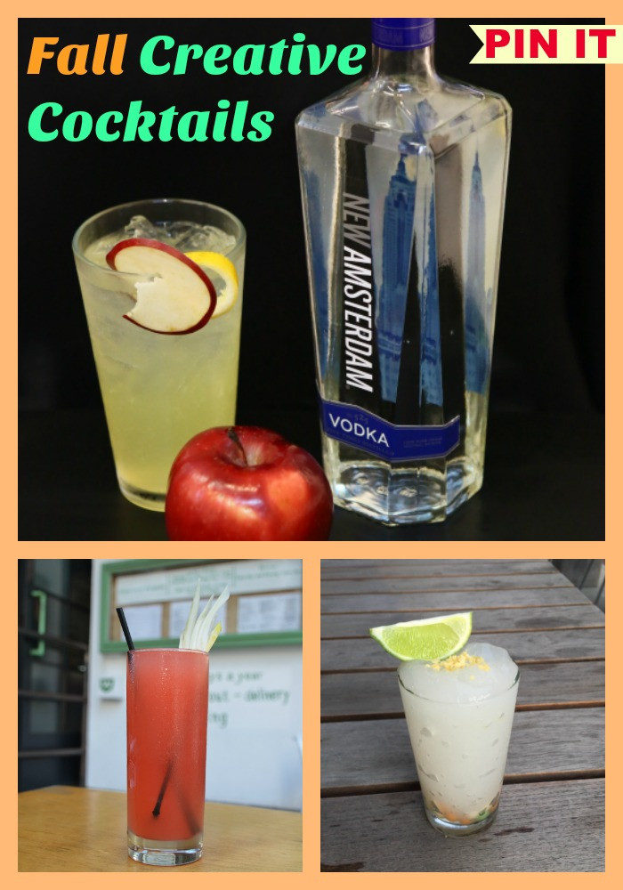 Fall Drinks With Vodka  3 Creative Fall Cocktails with New Amsterdam Vodka Tools
