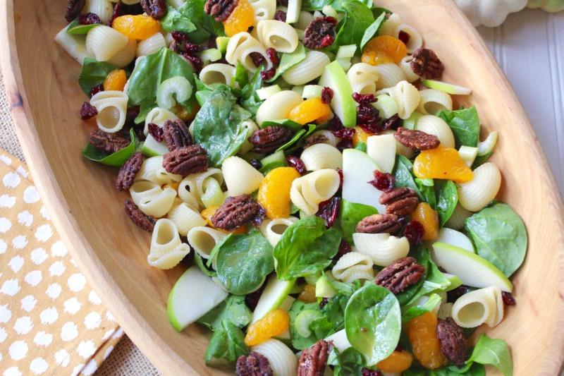 Fall Pasta Salad  Autumn Crunch Pasta Salad Lake Lure Cottage KitchenLake
