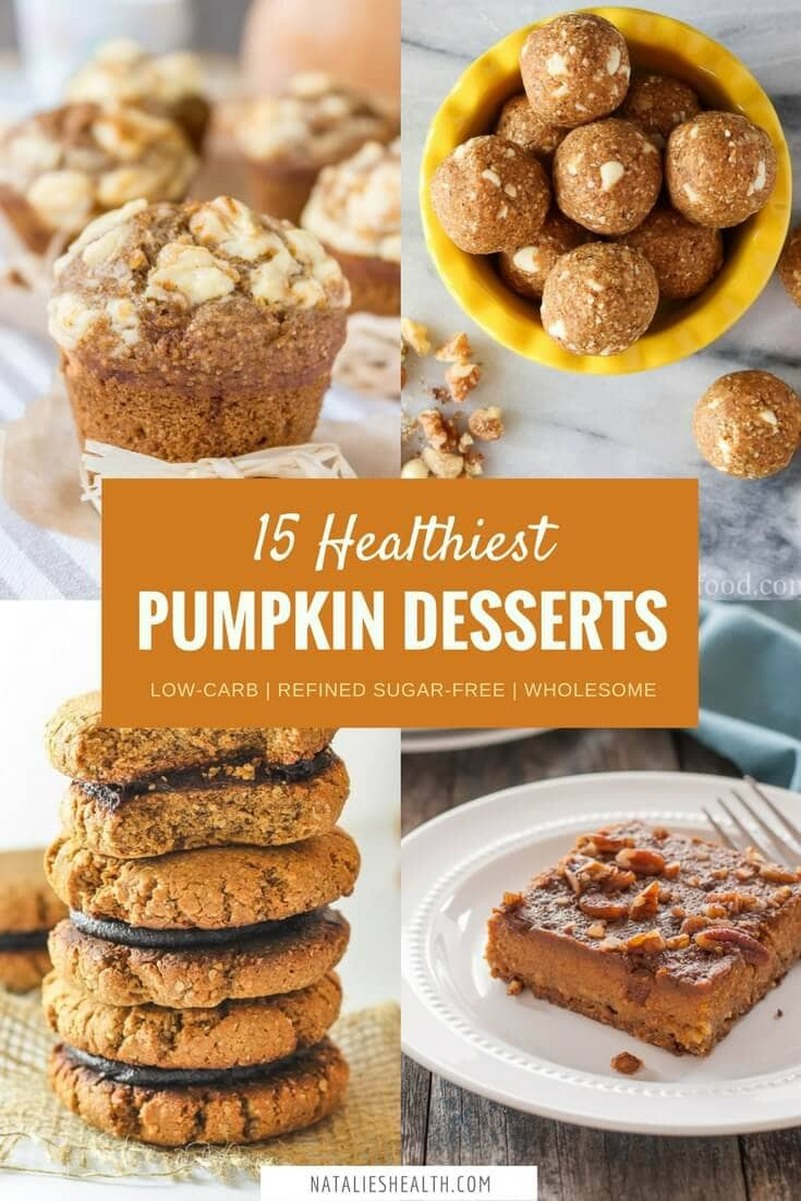 Fall Pumpkin Desserts  Natalie s Food & Health Eat healthy and live better