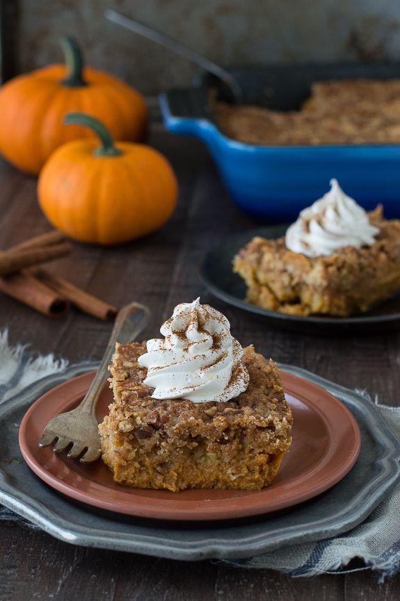 Fall Pumpkin Desserts  11 best images about Desserts on Pinterest