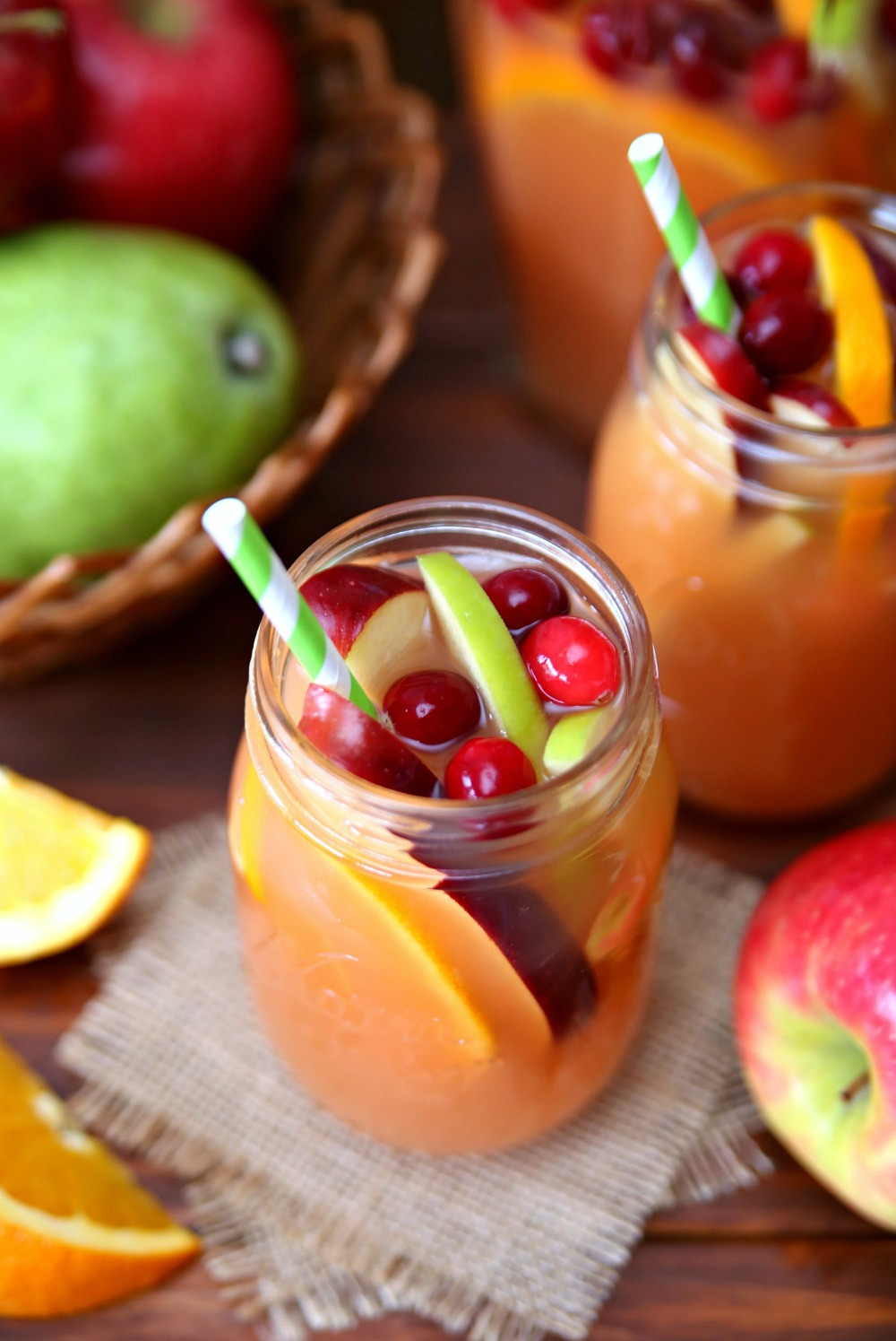 Fall Rum Drinks  Autumn Harvest Rum Punch The Best Fall Rum Punch