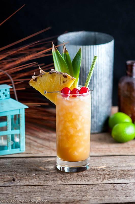 Fall Rum Drinks  Fall in Paradise Tropical Rum Tiki Cocktail