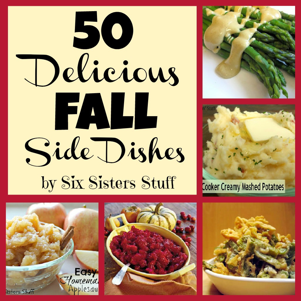 Fall Side Dishes  50 Delicious Fall Side Dishes