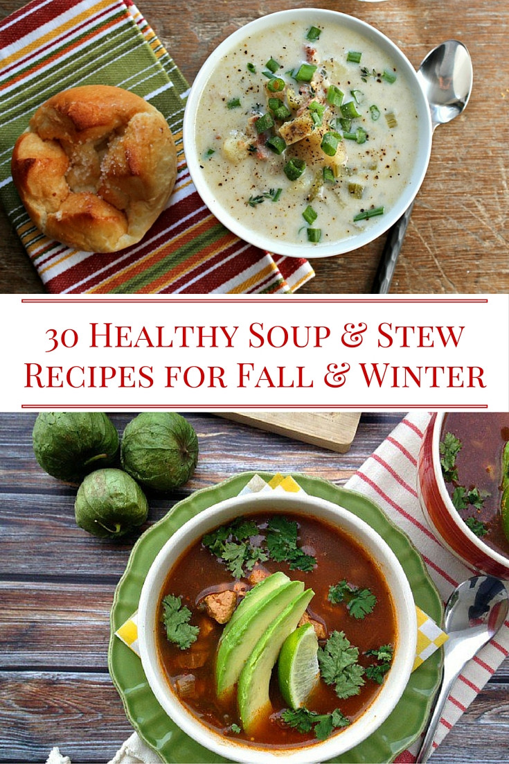 Fall Soup And Stew Recipes  30 Healthy Soup and Stew Recipes Alissa Rumsey RD