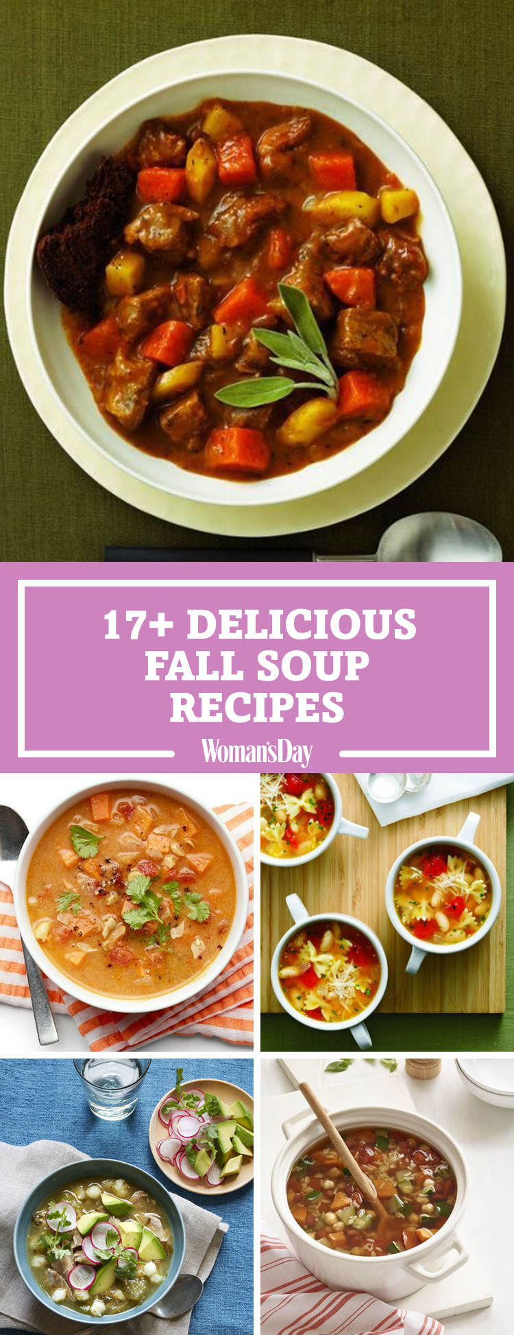 Fall Soup And Stew Recipes  22 Best Fall Soup Recipes Easy and Hearty Autumn Soups