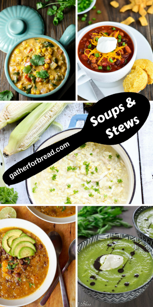 Fall Soup And Stew Recipes  Recipes to Feed a Crowd Easy Entertaining Gather for Bread