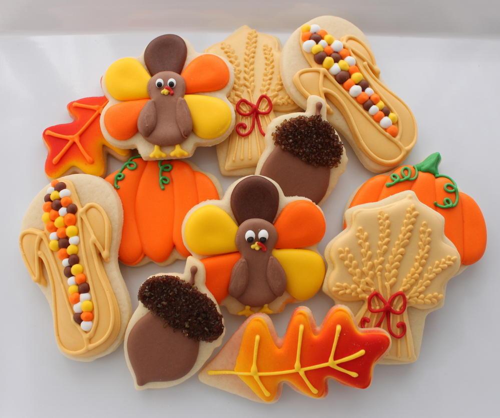 Fall Sugar Cookies  Saturday Spotlight Top 10 Autumn Cookies