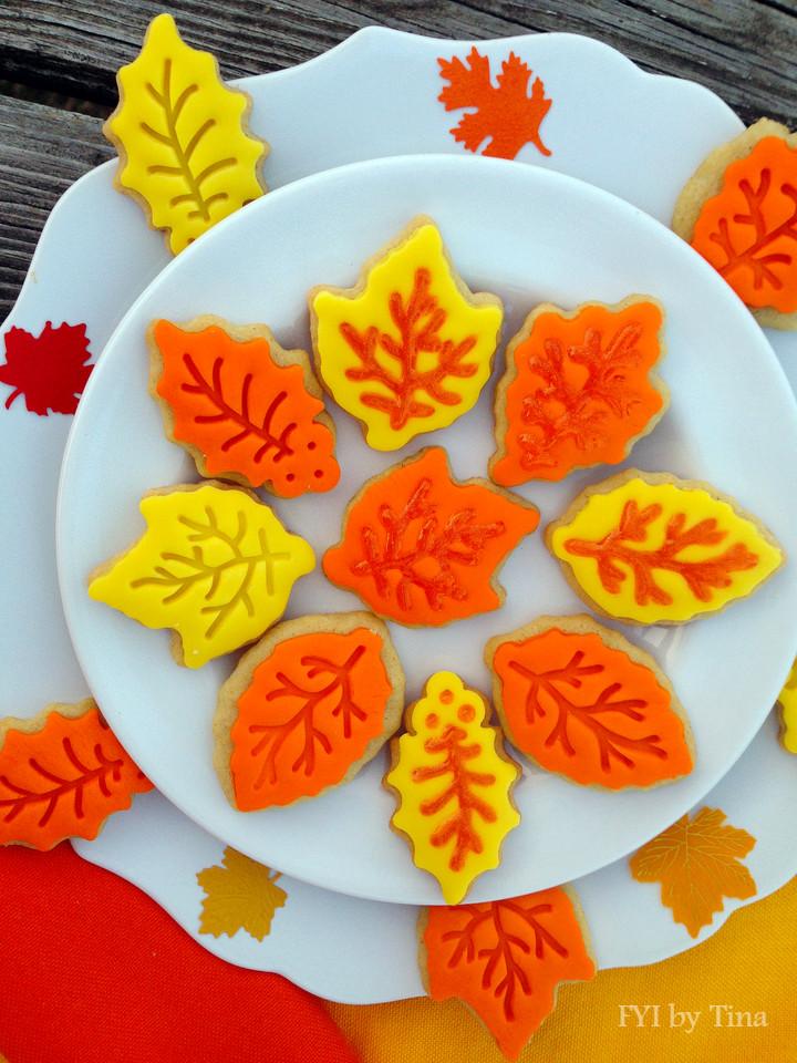 Fall Sugar Cookies  Fall Leaf Sugar Cookies Recipe