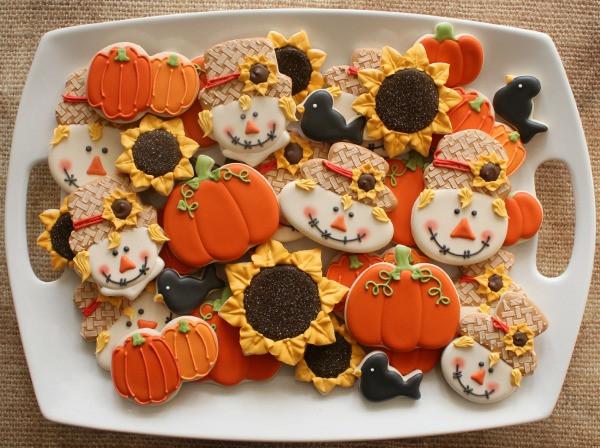 Fall Sugar Cookies  Scarecrow Cookies – The Sweet Adventures of Sugar Belle