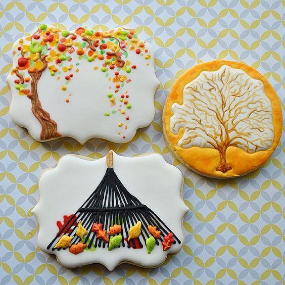 Fall Sugar Cookies  11 Beautiful Fall Sugar Cookies