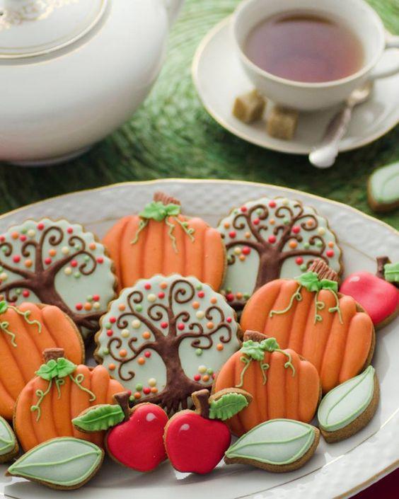 Fall Sugar Cookies  Fall Cookie Set by De Koekenbakkers Cookies