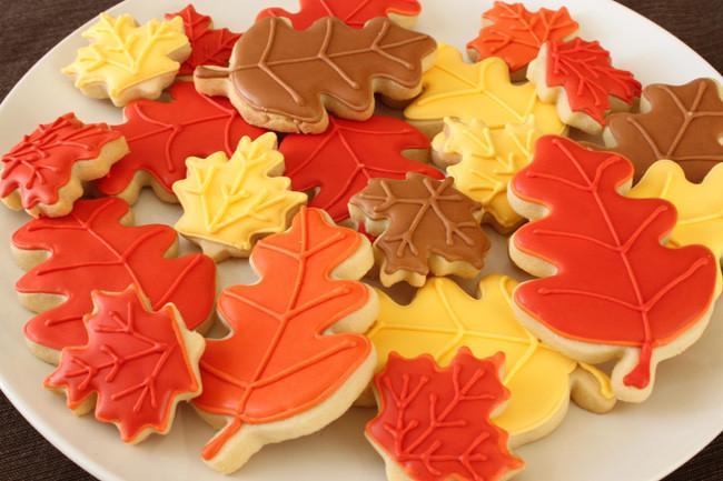 Fall Sugar Cookies  Fall Sugar Cookies