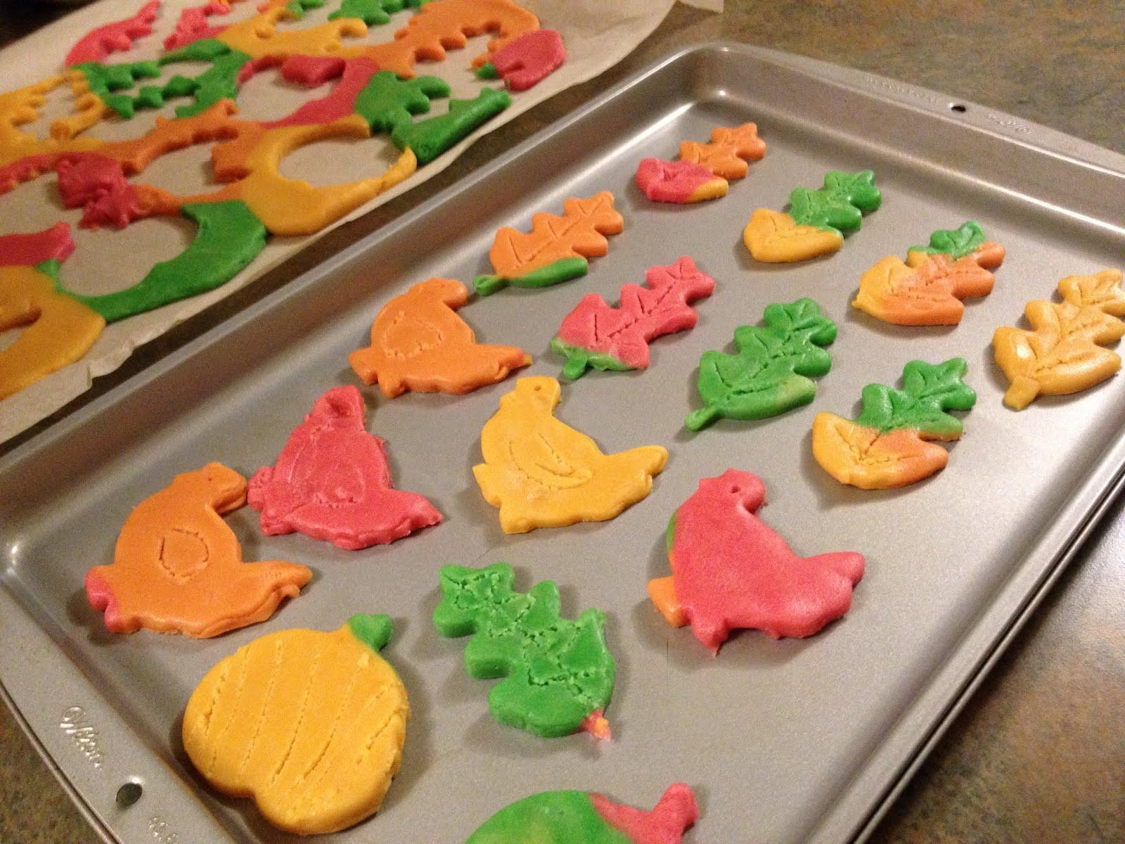 Fall Sugar Cookies  The Hippie Housewife Fall Leaf Sugar Cookies