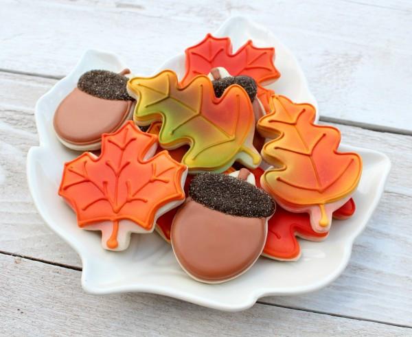 Fall Sugar Cookies  Easy Autumn Leaves Cookies – The Sweet Adventures of Sugar