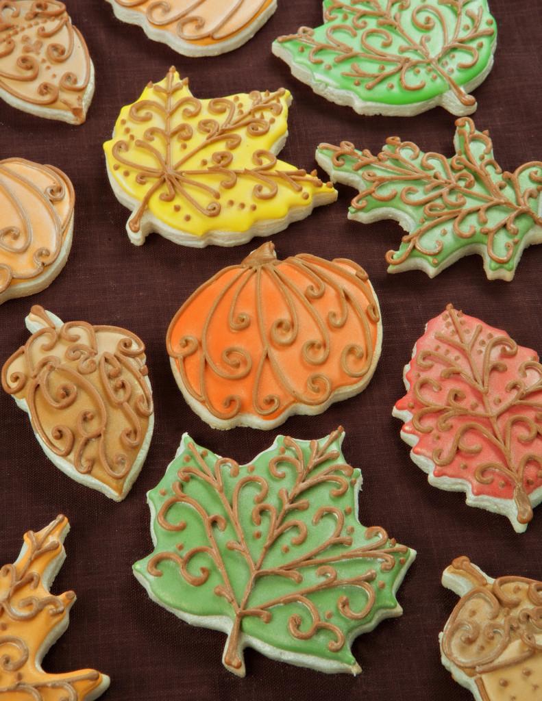 Fall Sugar Cookies  Fall Leaves Cookies