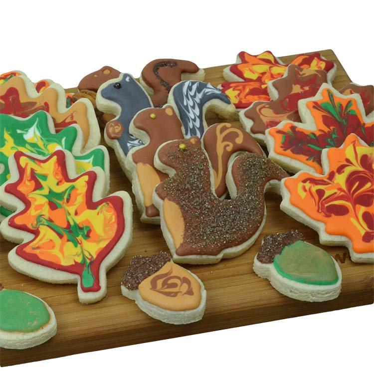 Fall Sugar Cookies  Fall Sugar Cookies Cookies for Kids