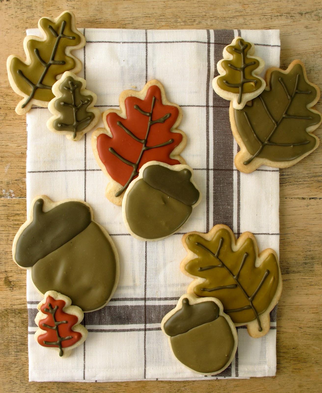Fall Sugar Cookies  Jenny Steffens Hobick Fall Sugar Cookies