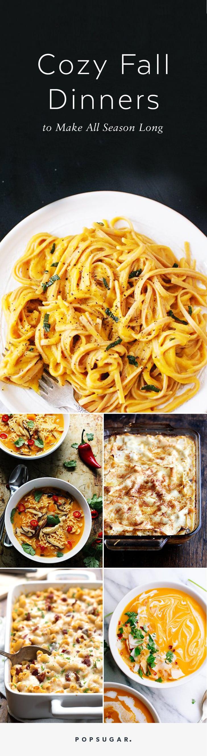Fall Sunday Dinner Ideas  Fall Dinner Recipes