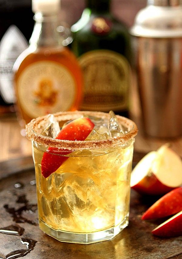 Fall Tequila Drinks  Apple Cider Margarita Thanksgiving Cocktails