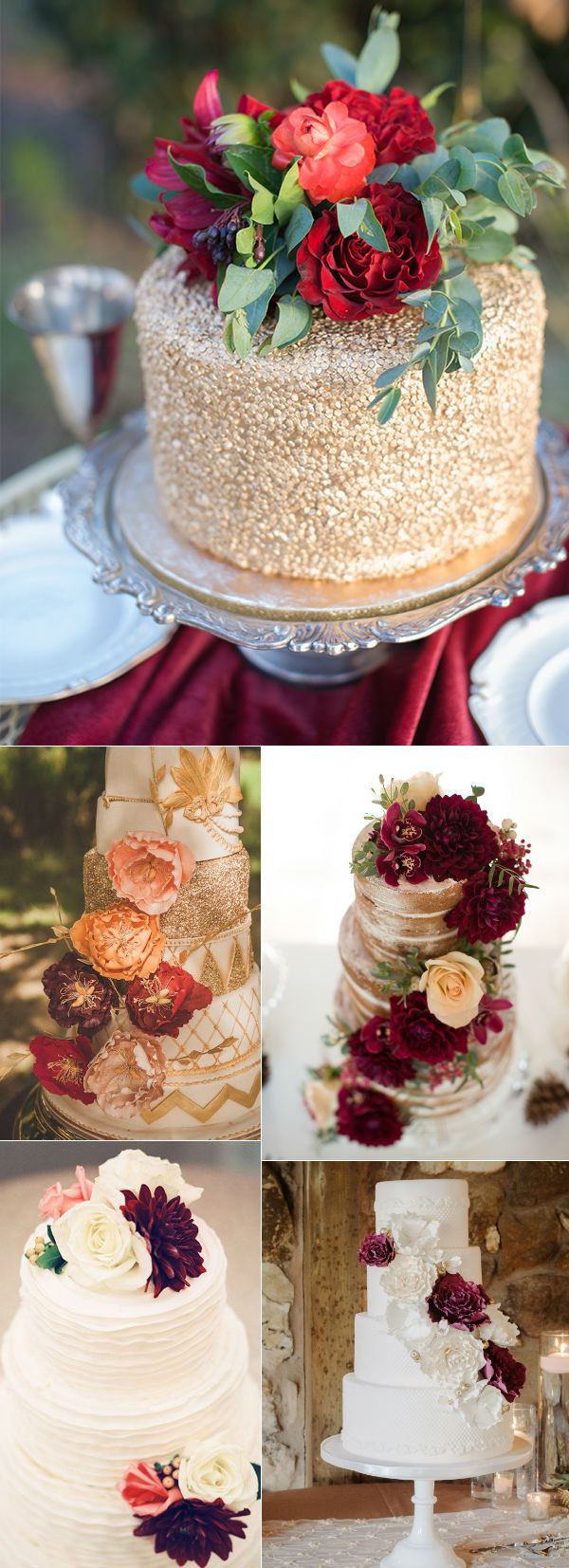 Fall Wedding Cakes Ideas  32 Amazing Wedding Cakes Perfect For Fall