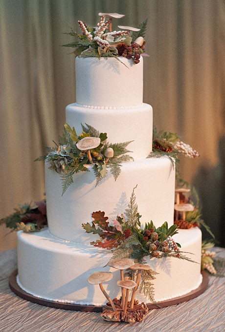 Fall Wedding Cakes Ideas  September 2013