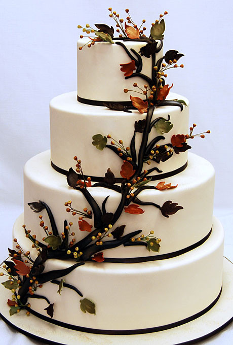 Fall Wedding Cakes Pictures  45 Incredible Fall Wedding Cakes that WOW