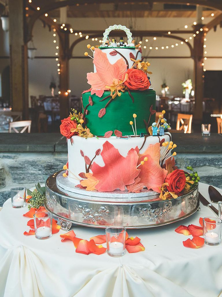 Fall Wedding Cakes Pictures  17 Gorgeous Fall Wedding Cakes