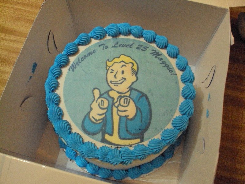 Fallout Birthday Cake  My Fallout 3 Cake by tonberry dagger on DeviantArt