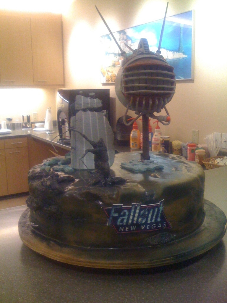 """Fallout Birthday Cake  """"Birthday cake"""" in the album """"Fallout New Vegas"""" by"""