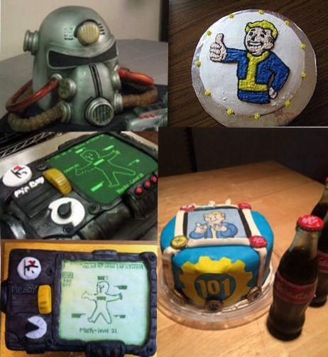 Fallout Birthday Cake  Fallout Cakes Birthday Ideas Pinterest