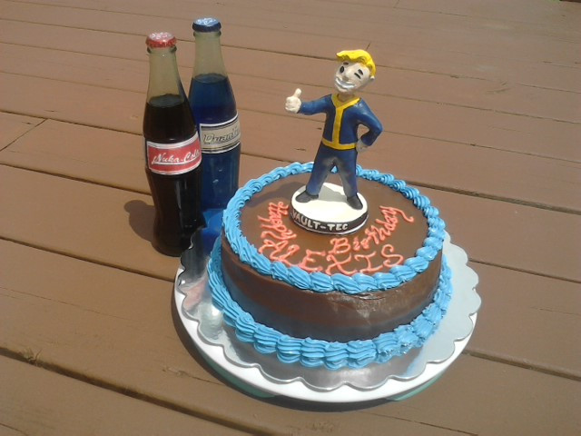 Fallout Birthday Cake  Fallout Cake by Nickofthewolves on DeviantArt