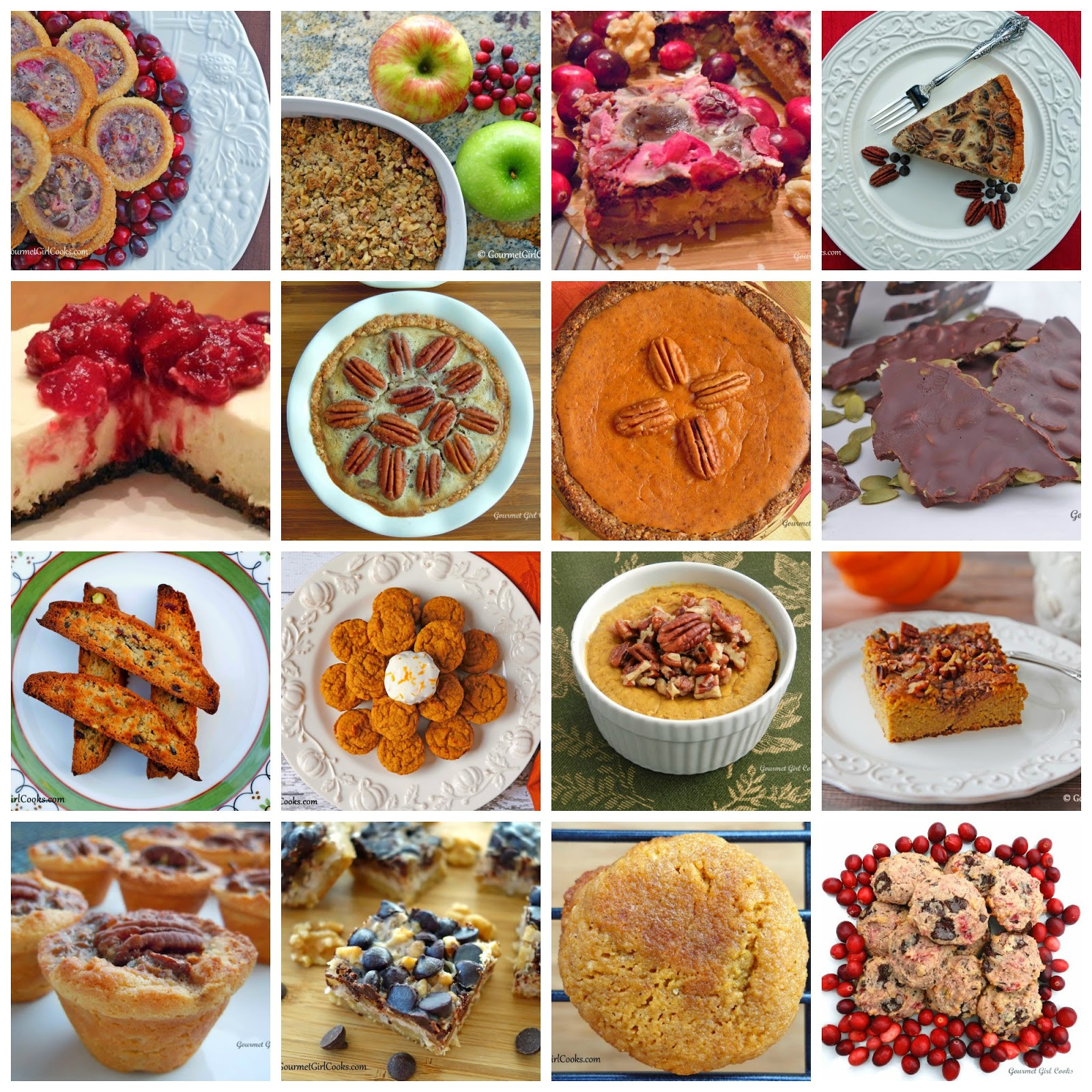 Fancy Thanksgiving Desserts  Gourmet Girl Cooks 16 Thanksgiving Dessert Recipes Low